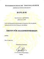 Dr. Anna Tsanava, Doctor, Aesthetic Medicine, German, Austria