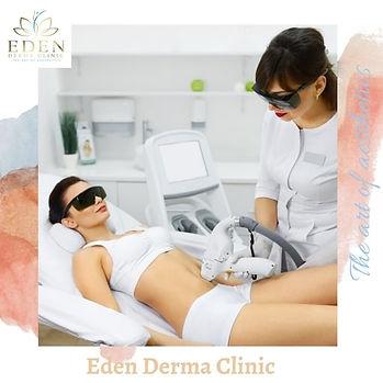 Permanent Laser Hair Removal Dubai Eden Derma Clinic