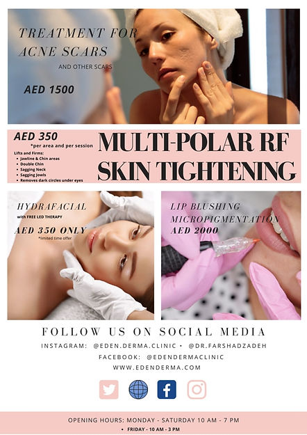 Eden Derma Summer offer