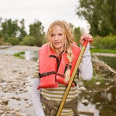 Ragazze Kayak