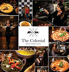 The Colonial British Indian Cuisine - Re