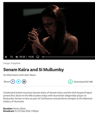 Sonam Kalra and Si Mullumby
