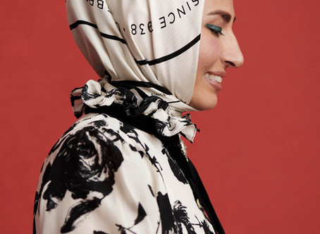 FOMA Designer Anjilla Seddeqi Brings Modest Fashion to the Forefront with Harper's Bazaar Feature