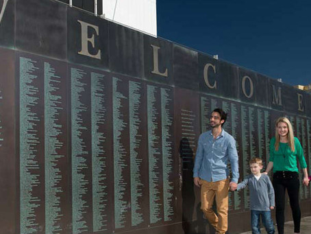 364 New Names to be Unveiled on  Migrant Welcome Wall at  National Maritime Museum