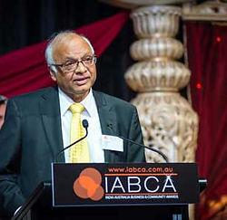 Dhruv Deepak Saxena, IABCA 2015 Lifetime Achievement Award Winner