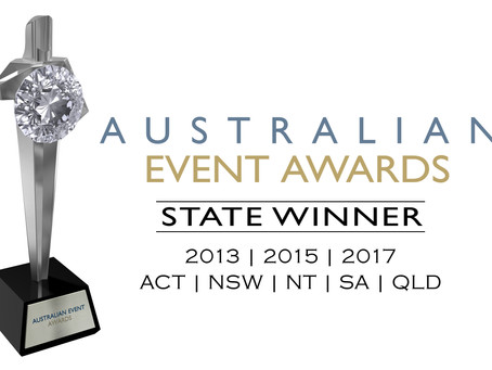Certified Platinum: Our History with the Australian Event Awards