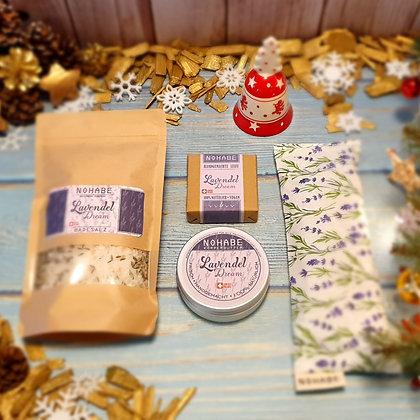 Entspannende Stunden Lavendel Dream Geschenkpackung