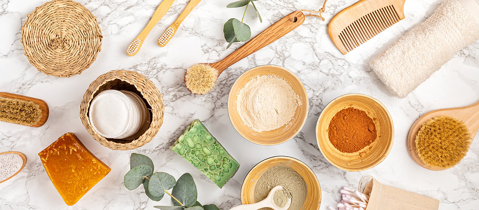 homemade-clay-facial-mask-zero-waste-eco-friendly-diy-beauty-products-ingredients-light-wa