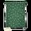 Thumbnail: Kirschkernkissen - grün mit weissen Blüten
