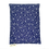 Thumbnail: Kirschkernkissen - dunkelblau mit weissen Blüten
