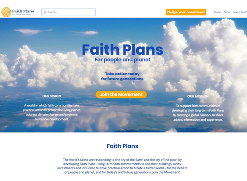 Ambitious 'Faith Plans' initiative launches to face climate challenges