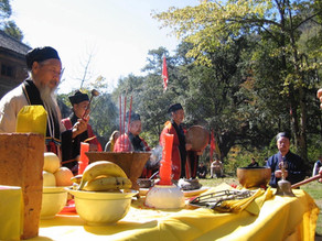 Daoists build chain of more than 200 ecological temples