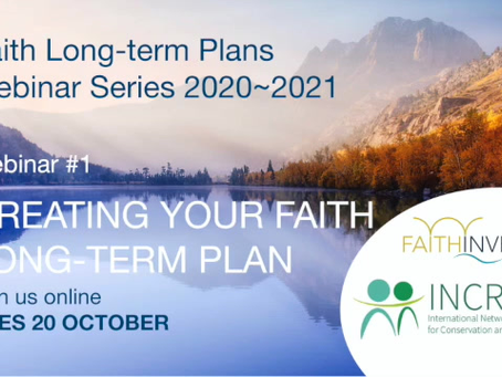Webinar: Creating your Faith Long-term Plan