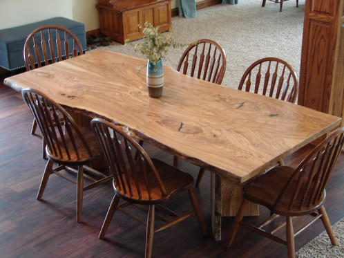 Ash Dining Table | Pathway Tables | Custom Live Edge Tables