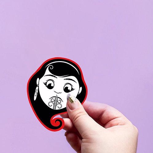 Boys & Girls Pukana sticker set