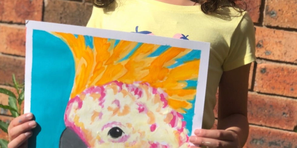 Kids Art Class - session two