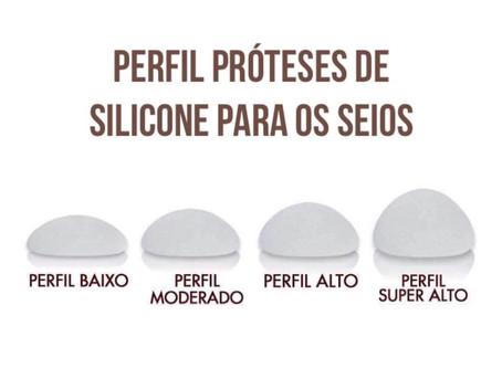 PERFIL DE PRÓTESES DE SILICONE