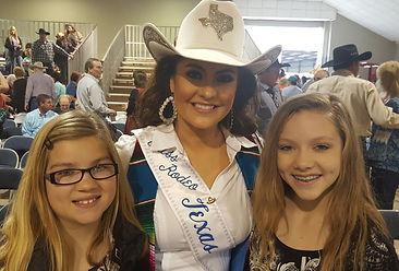 "Miss Rodeo Texas  2015 Kimberly ""Nikki"" Woodward"