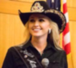 Miss Rodeo America 2014 Paige Nicholson