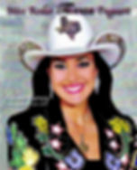 Miss Rodeo Texas  2010  Celesta Harvey ​
