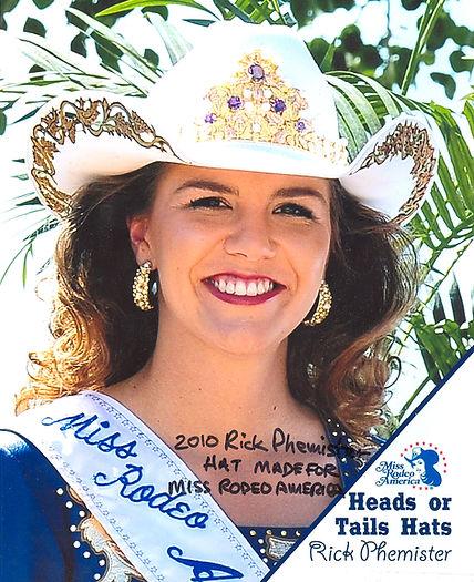 Miss Rodeo America 2010 Selena (Ulch) Pope