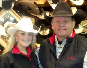 Miss Rodeo Texas  2013 Stephanie Revels