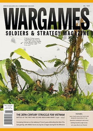Wargames, Soldiers & Strategy  #111 DEC/JAN 2021