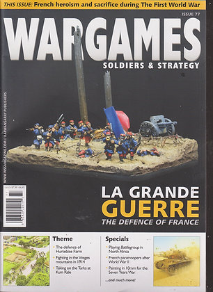 Wargames, Soldiers & Strategy  #77 APR/MAY 2015