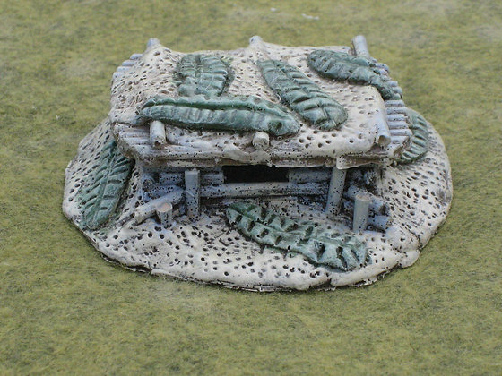 15mm Pacific Team Bunker