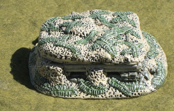 15mm Pacific Large Squad Bunker