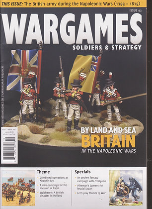 Wargames, Soldiers & Strategy  #92 OCT/NOV 2017