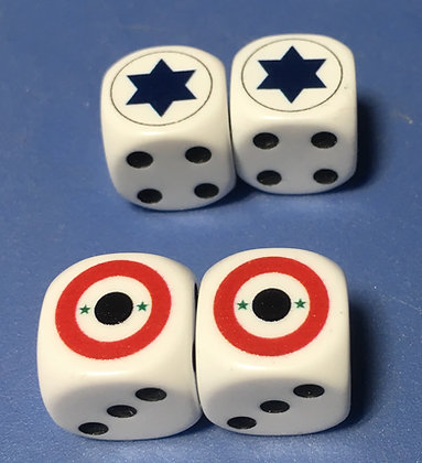 Israeli and Egyptian Dice (D6)