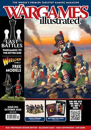 Wargames Illustrated #394 OCT 2020