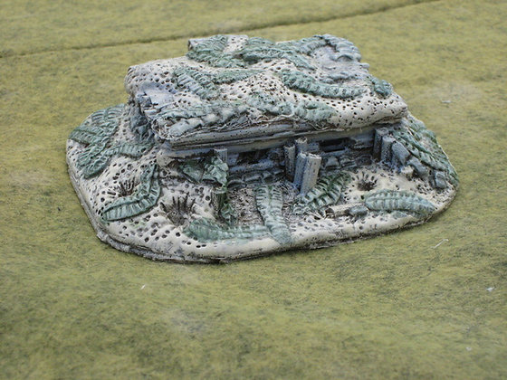 15mm Pacific Squad Bunker