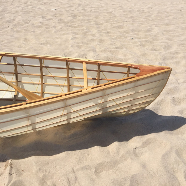 skin on frame canoe