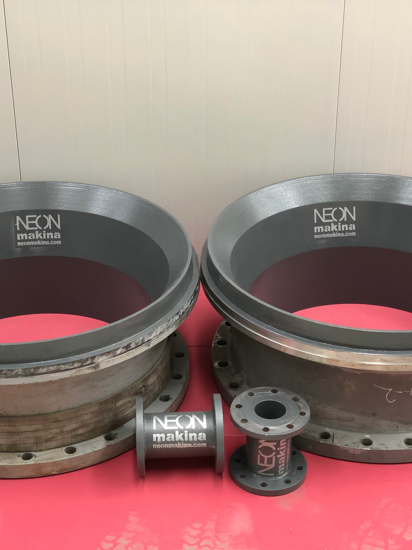 Ø940mm Throatbush & Ø100mm Spools
