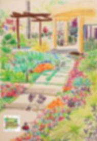 jardin californien Manon BORDET CHAVANES