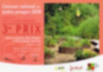 Prix concours national des jardins potagers 2016 SNHF