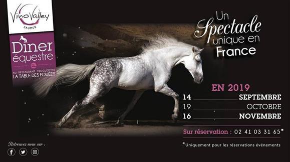Diner équestre Saumur