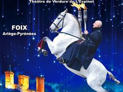 Avec Gilles Fortier à Foix