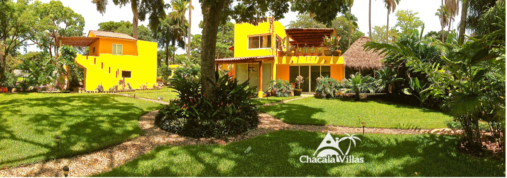 Villa tutu garden panoramic CHV logo
