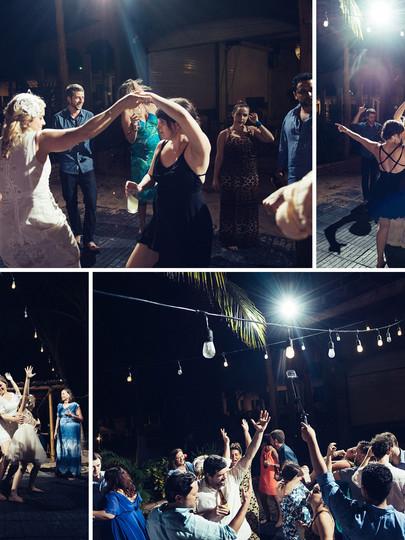 Dancing live music at Chac Mool