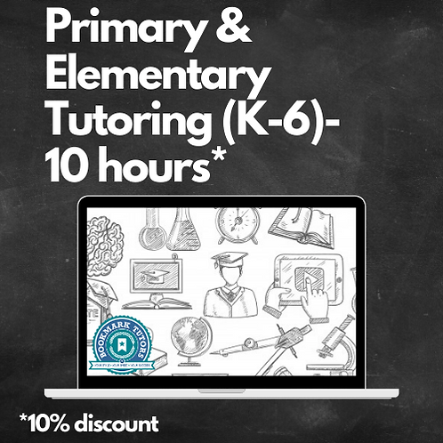 10 Hours - Elementary Tutoring