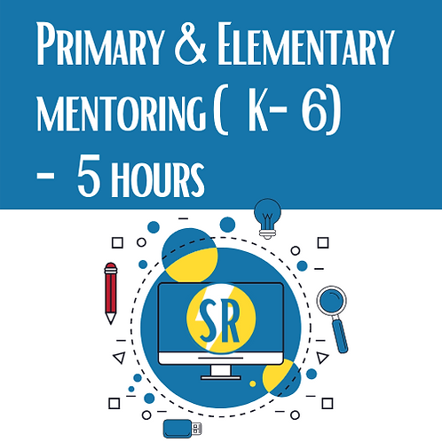 5 Hours Primary & Elementary Tutoring Mentoring