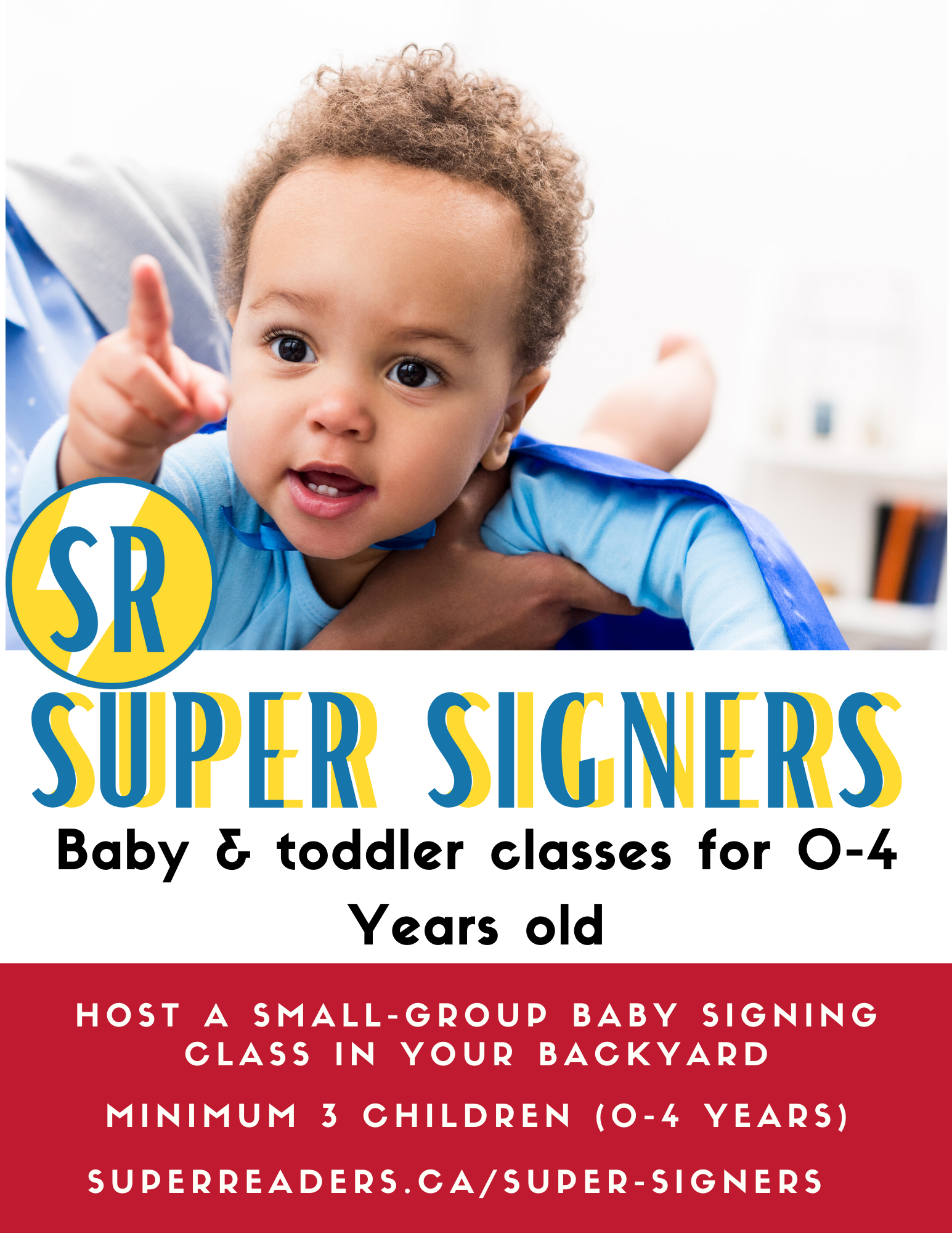 Backyard Baby Signing Time (ages 0-4)