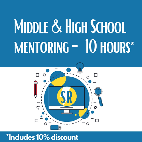 10 Hours - Middle & High School Mentoring