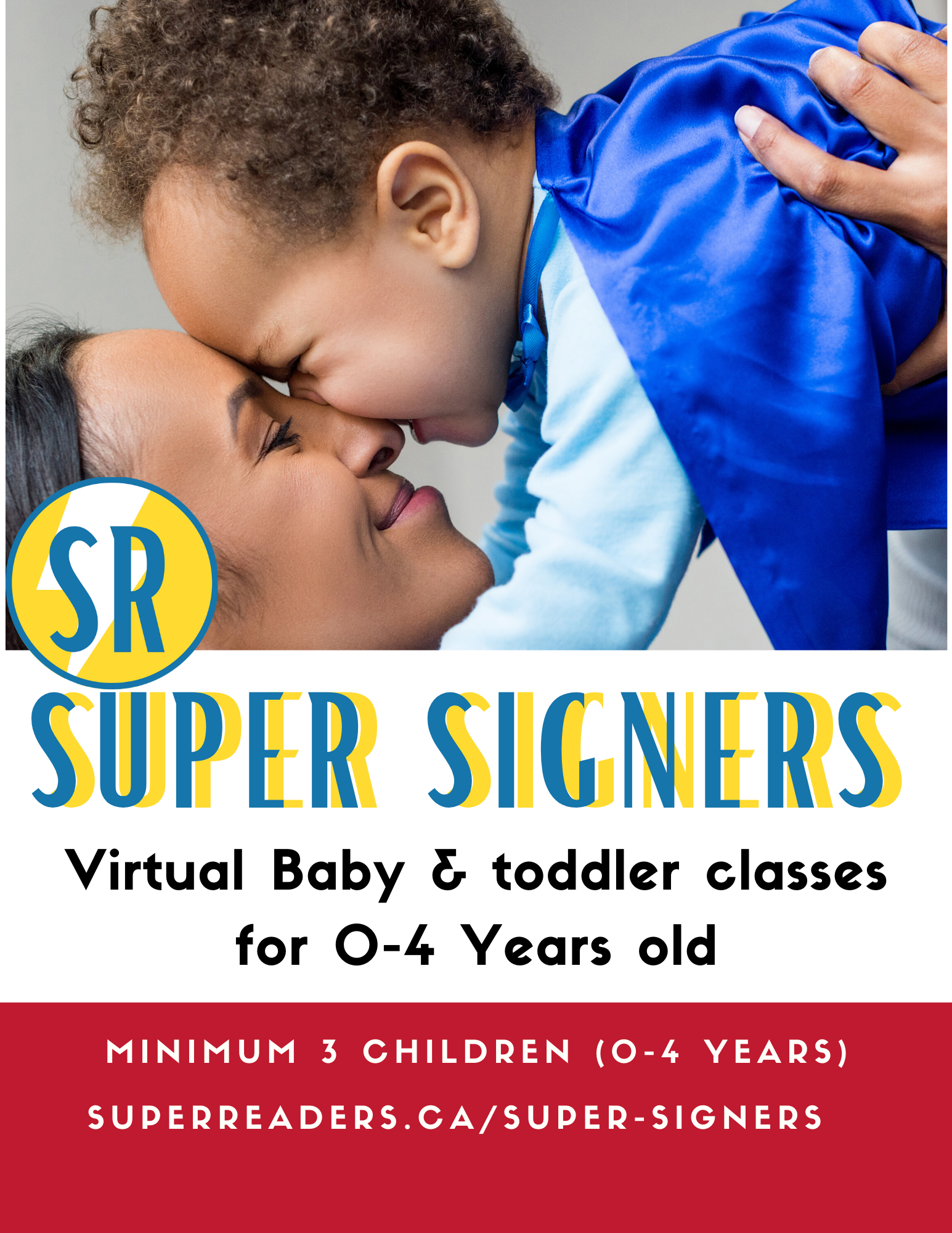 Virtual Baby Signing (age 0-4 years)