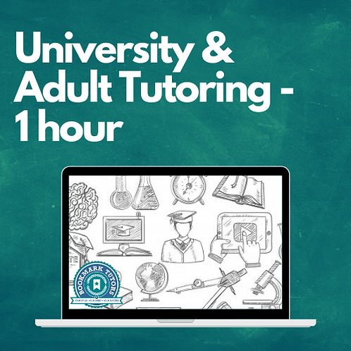 1 Hour - University & Adult