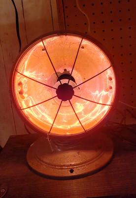 Small Heat lamp