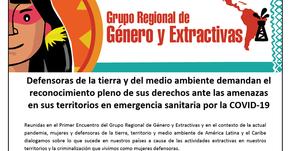 Defensoras demandan el reconocimiento pleno de sus derechos en emergencia sanitaria por la COVID-19